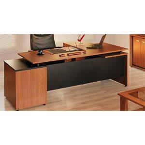 میز مدیریت ال دار مدل مینا تولیدی آرک