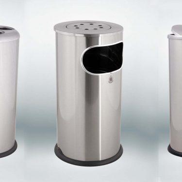 سطل زباله مدل F4 – استیل