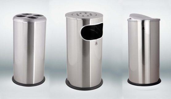 سطل زباله مدل F4 - استیل