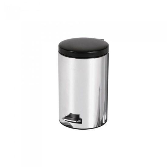 سطل زباله استیل براق مدل A40 گروه صنعتی نگین