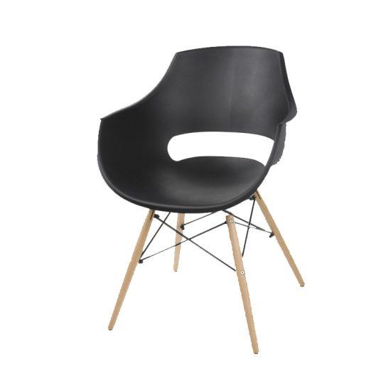 صندلی پایه چوبی