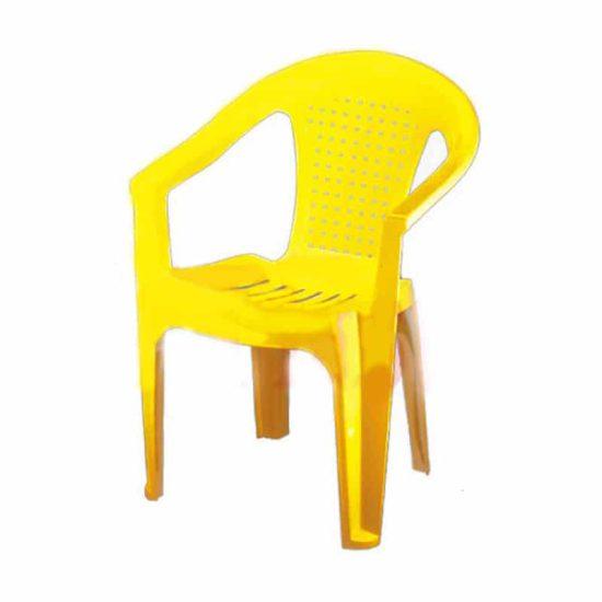 صندلی دسته دار حصیری