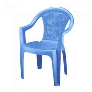 صندلی دسته دار بزرگ گلدار