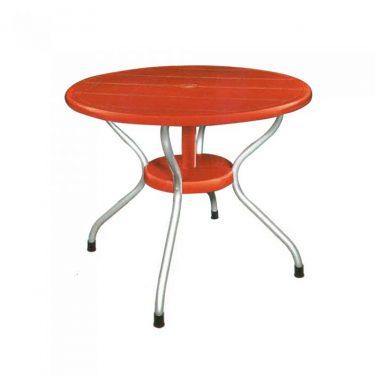 میز گرد پایه فلزی