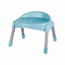 چهارپایه پشتی دار پایه فلزی کوتاه