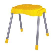 چهارپایه حصیر بافت پایه فلزی متوسط
