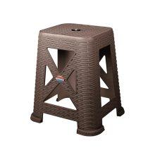 چهارپایه بلند حصیر بافت