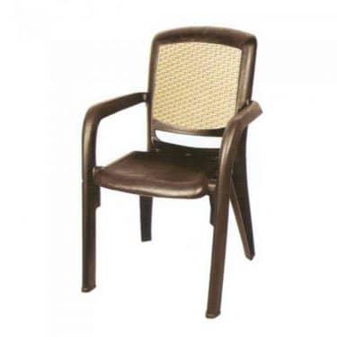 صندلی دسته دار دو رنگ