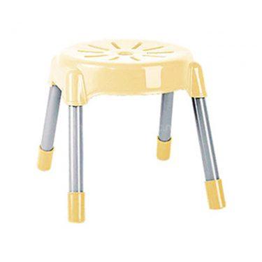 چهارپایه پایه فلزی گرد کوتاه