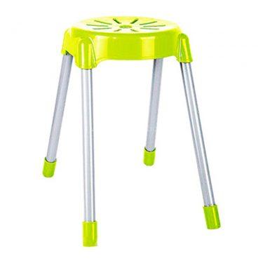 چهارپایه پایه فلزی گرد متوسط