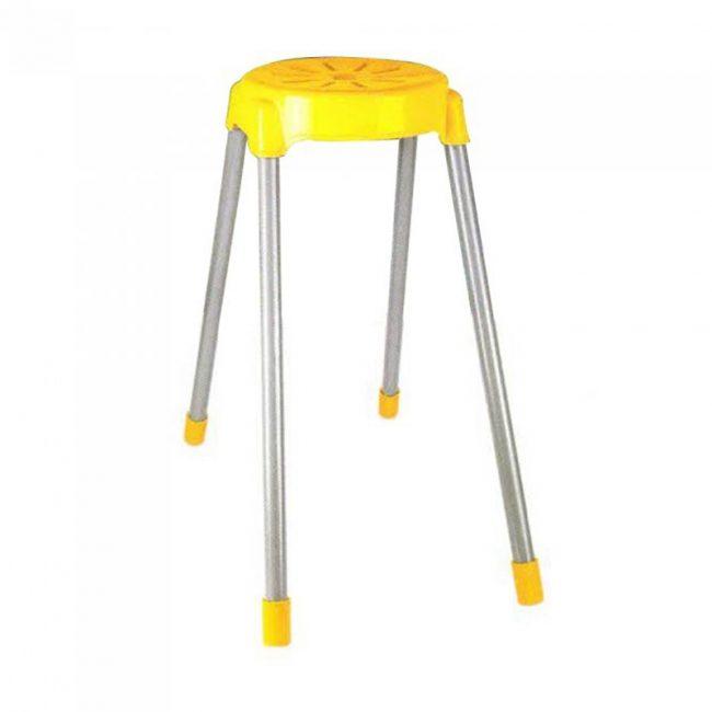 چهارپایه پایه فلزی گرد بلند