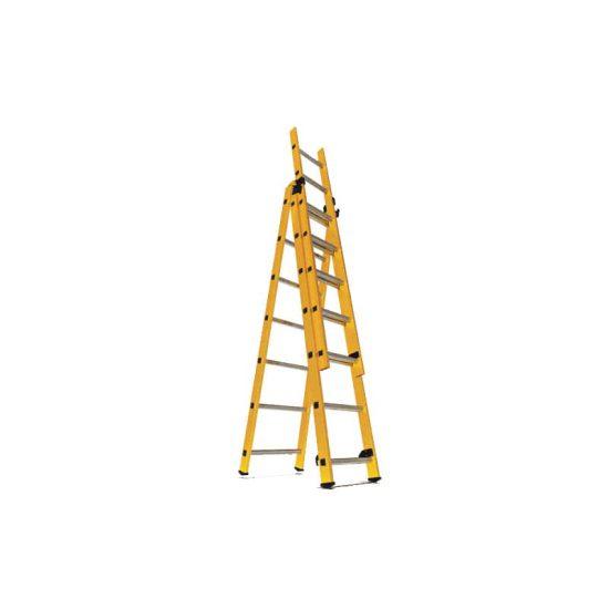 نردبان 3 تکه 21 پله مدل الگانت