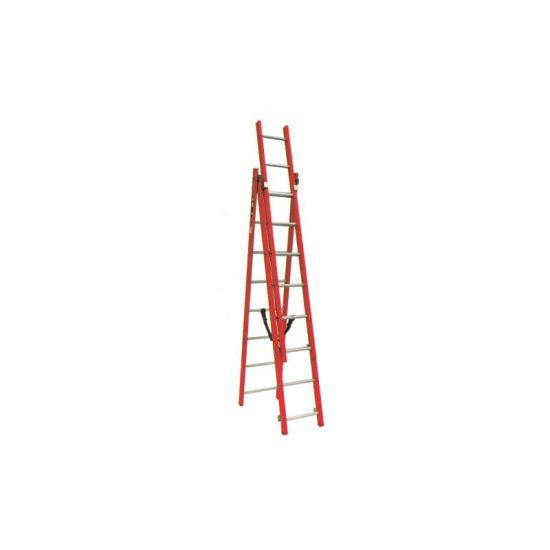 نردبان 3 تکه 24 پله مدل تک صنعت