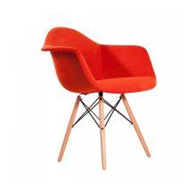 صندلی رستورانی چهارپایه ایفلی چوبی مدل ایزی