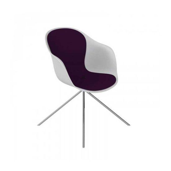 صندلی رستورانی پایه فلزی مدل کامفورت