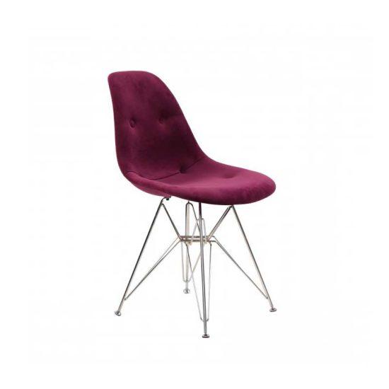 صندلی رستورانی پایه ایفلی فلزی مدل داووس