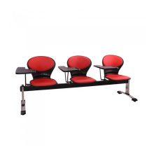 صندلی انتظار سه نفره دسته دار