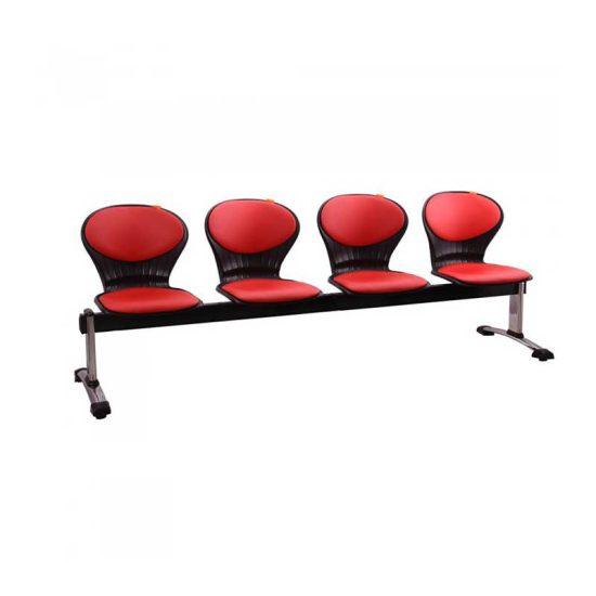 صندلی انتظار چهار نفره مدل صدفی