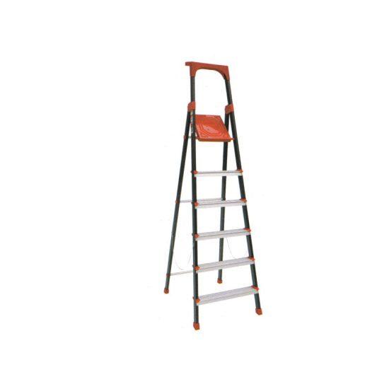نردبان 6 پله مدل الماس