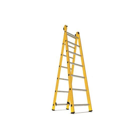 نردبان 2 تکه 14 پله مدل الگانت