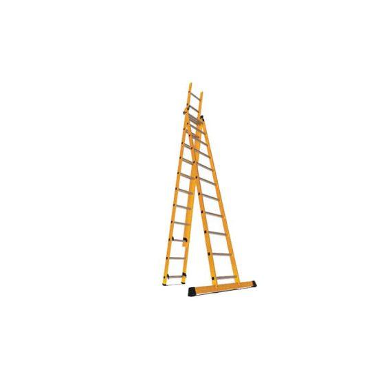 نردبان 3 تکه 34 پله مدل الگانت