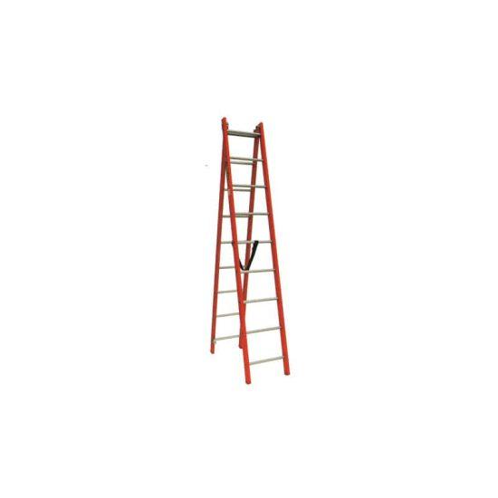 نردبان 2 تکه 18 پله مدل تک صنعت