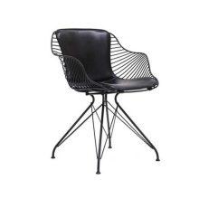 صندلی رستورانی پایه ثابت کوره ای مدل فلورنس استیل هامون