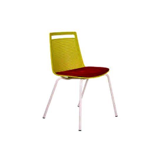 صندلی رستورانی پایه فلزی کوره ای استیل هامونمدل آکامی