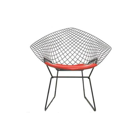 صندلی رستورانی توری فلزی کوره ای مدل مونیکا استیل هامون