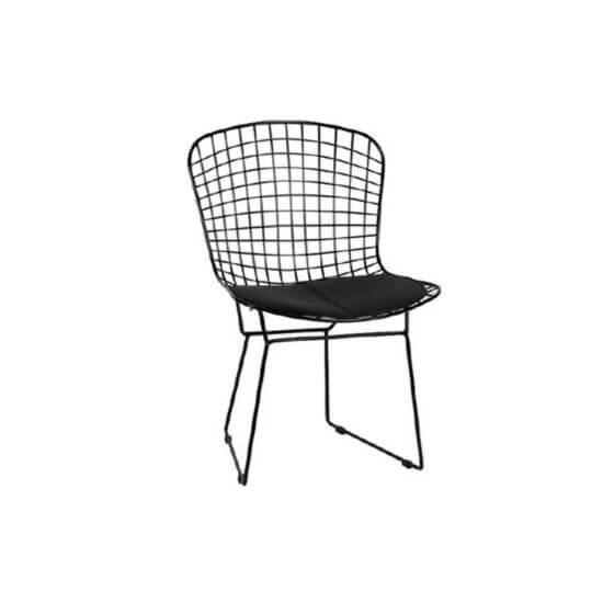 صندلی رستورانی توری فلزی کوره ای مدل پارمیدا استیل هامون