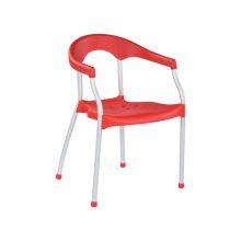 صندلی پایه آهنی رنگ کوره ای مدل سرنا استیل هامون