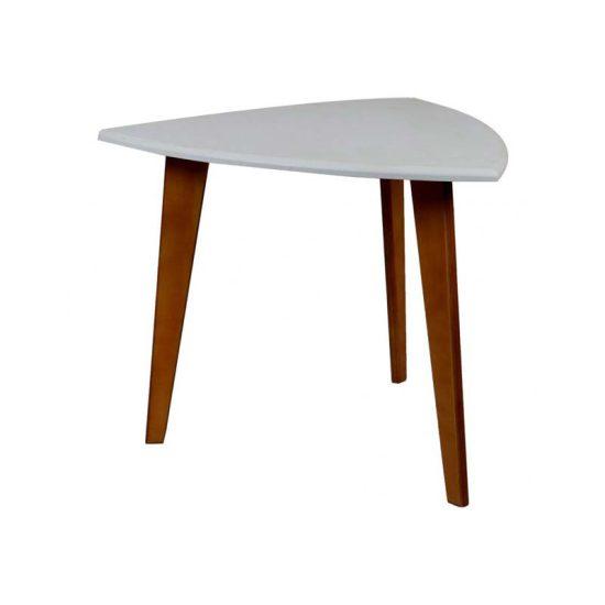 میز سه نفره با پایه چوبی استیل هامون