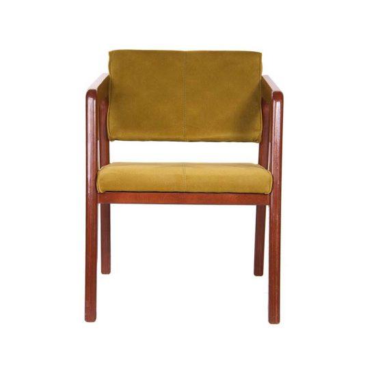 صندلی انتظار چوبی مدل چری استیل هامون