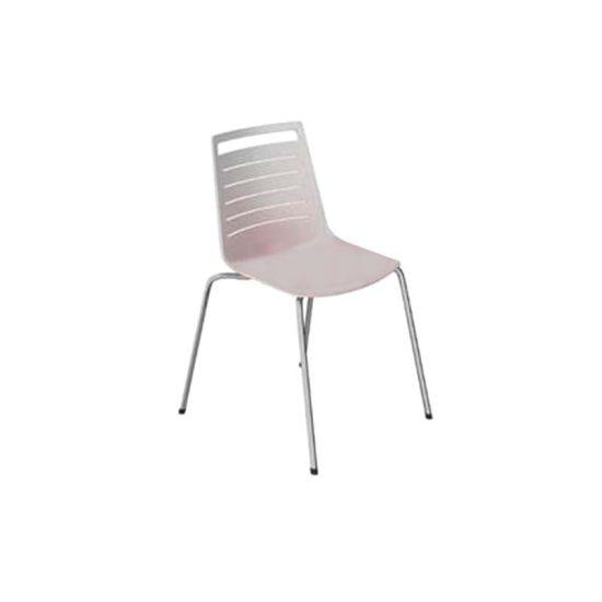 صندلی رستورانی پایه فلزی کوره ای مدل ناتالی استیل هامون