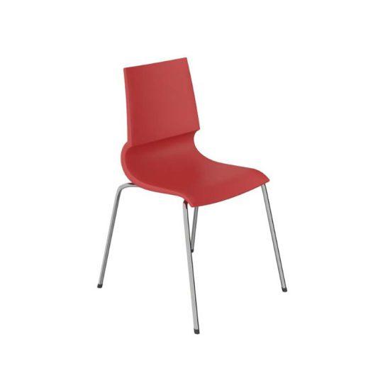 صندلی رستورانی پایه فلزی کوره ای مدل رونی استیل هامون