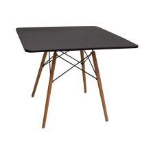 میز پایه چوبی مربعی ایفلی ماهور